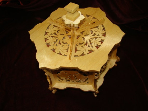 Art Piece Wedding Gift : ... Keepsake Box Hand Guided Scroll Art 2 Piece Gift Wedding Bridal Shower