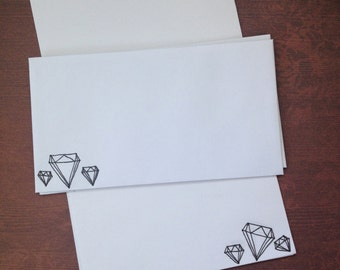 Diamond Stationery Set