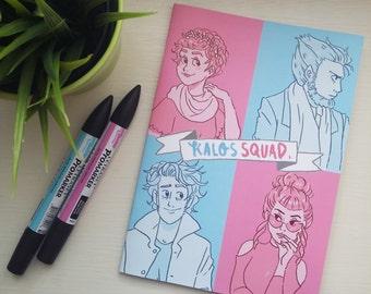 Kalos Squad art zine
