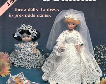 Doilies & Dollies Crochet Pattern, Doily Patterns, Crochet Projects, Crochet Dress Patterns, Vintage Crochet Patterns, Pattern for Doilies