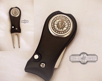 Liberty Nickel Golf Divot Tool