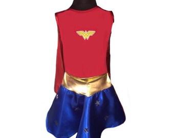 WONDER WOMAN FREESHIPPING costume dc comics costume