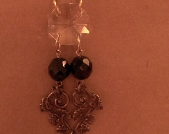Victorian crystal and antique gold.