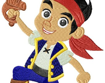 Jake (Jake and the neverland pirates) mashine embroidery design