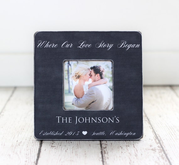 Christmas Gift For Wife Husband Personalized Picture Frame