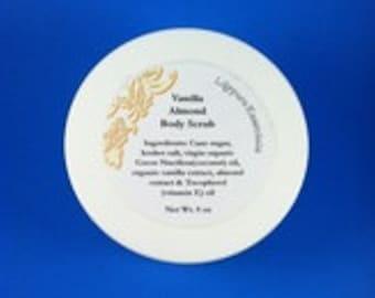 Vanilla Almond Body Scrub 8 oz