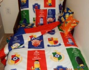 Toddler Bedding - MINIONS