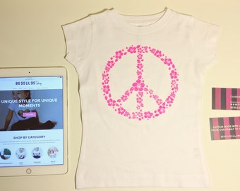 Peace Tee, Peace and Love, Toddler Shirts, Toddler Tees, Baby Shirts, Baby Tees, Peace, Love, Inspiring