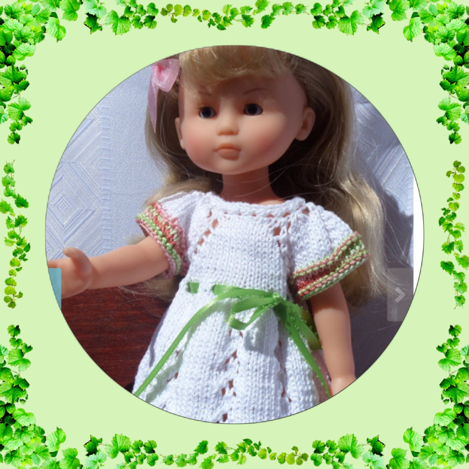 Knitting Patterns For 13 Inch Dolls : Knitting Pattern PDF download 13 inch dolls Les Cheries