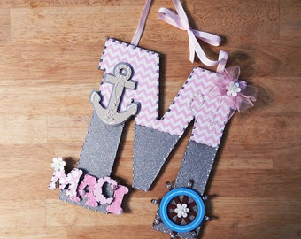 Baby Room Decor, Baby Nursery Decor, Custom Nursery Letters, Nursery Decor, Custom Letters, Nursery Letters, Custom Wood Letters, Letters