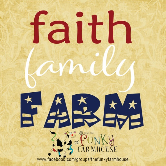 SVG & PNG - Faith Family Farm