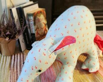 Large artistic aardvark/anteater