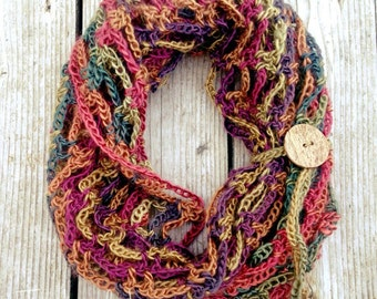 Infinity Scarf- Perfect for fall- FIVE ways to wear!