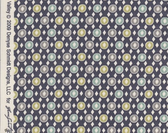 Hope Valley by Denyse Schmidt for Free Spirit Fabrics - Blue Quilting Cotton Fabric