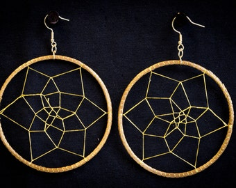 Brazilian Golden Grass  Earrings
