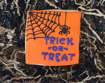 Trick or Treat cookies