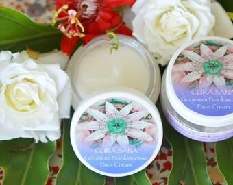 Geranium Frankincense face cream