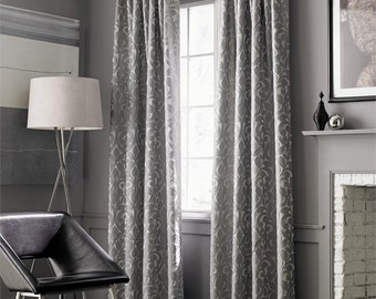Softline Lillian Window Treatment Collection, Sold as a single panel. ready made panel