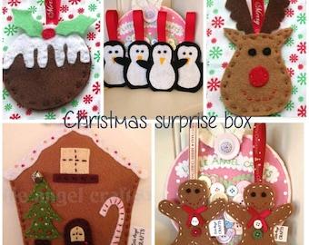 Brand new Christmas surprise box. Prefect gift idea.