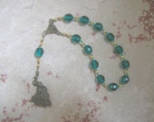 Hera Pocket Prayer Beads: Greek Goddess of the Sky and Heavens, Marriage and Fidelity, and Queen of Olympus