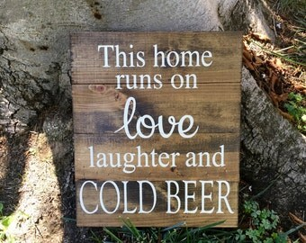 Bar Sign,Man Cave Sign,Gift for Him,Husband Gift,Boyfriend Gift,Home Decor,Beer Sign,Bar Decor,Man Cave,Wall Decor