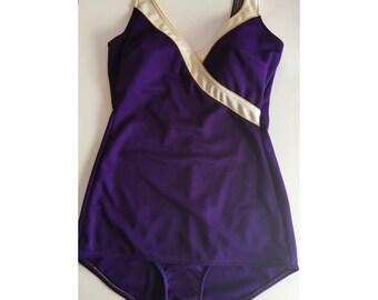 Vinatge Purple Swimsuit