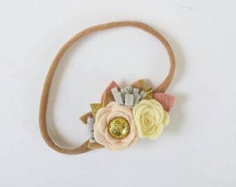 Rosie Cluster headband