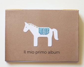 MY FIRST ALBUM, handmade photo album for children