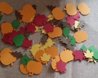 100 Piece Fall Leaves Confetti