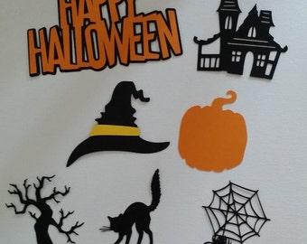 Halloween Die Cut set of 7