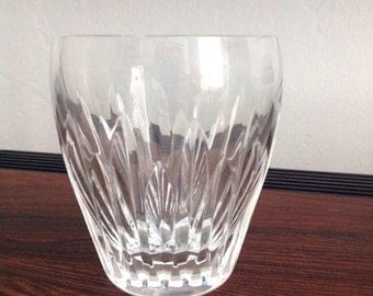 """Vintage Fine Waterford Drinking Glass Cut Crystal from Ireland 3.5"""" Tall"""