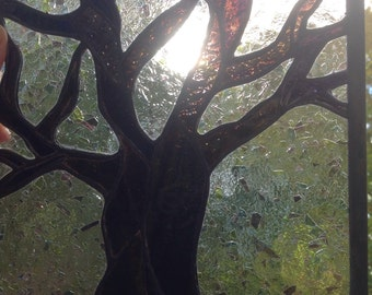 Stained glass tree-art