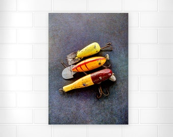 Father's Day Gifts - Photography - Gifts for Dad - Photo Print - Fishing Gifts - Wall Art - Home Decor - Gifts for Men - Vintage Photography