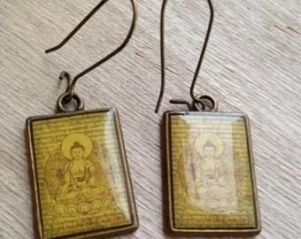 """Earrings """"Buddha"""""""