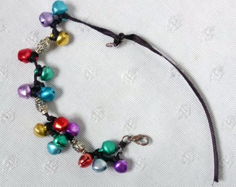Bracelet multicolored bells