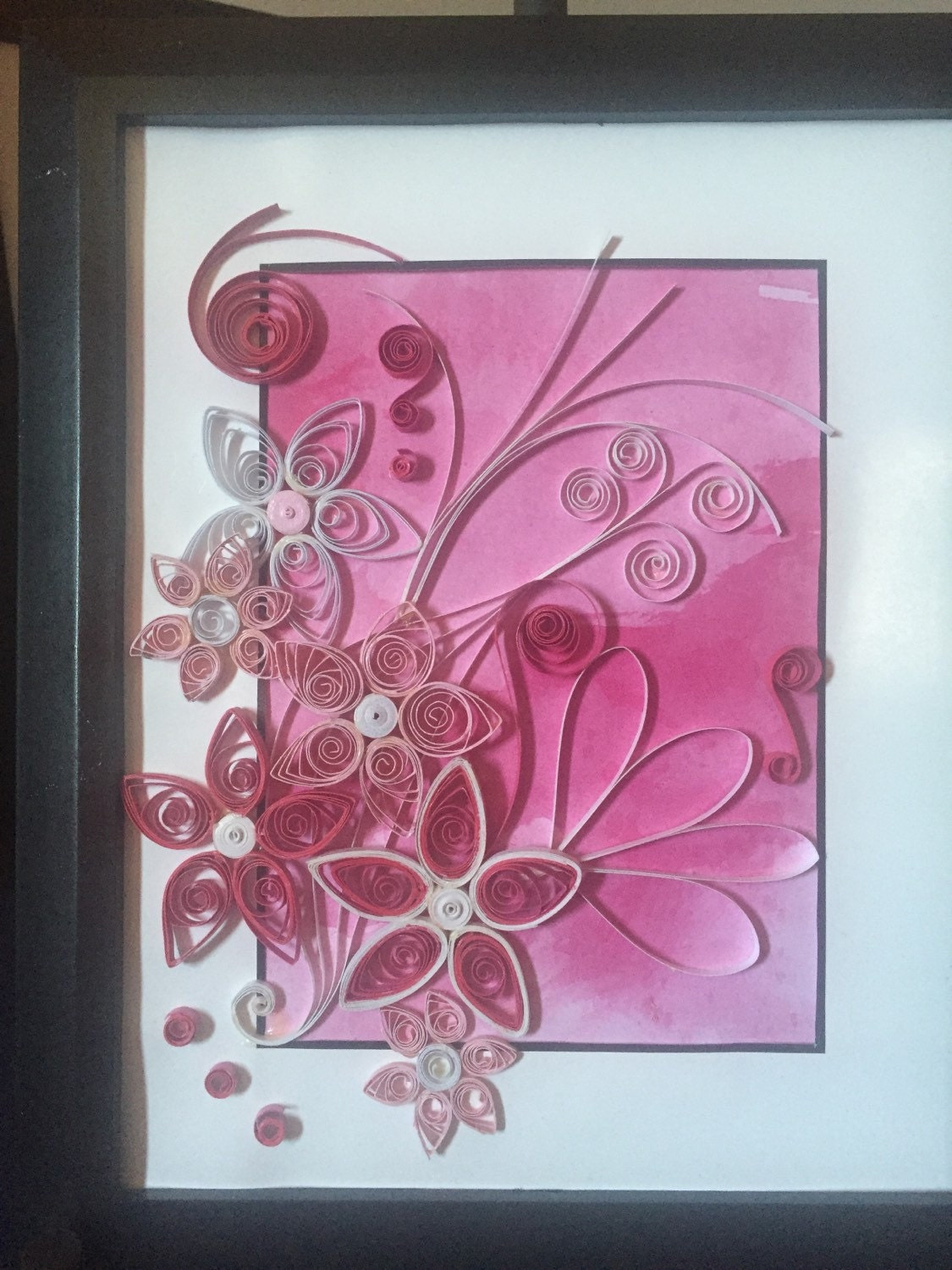 Sold Quilling Wall Art Quilled Paper Art Paper Quilled