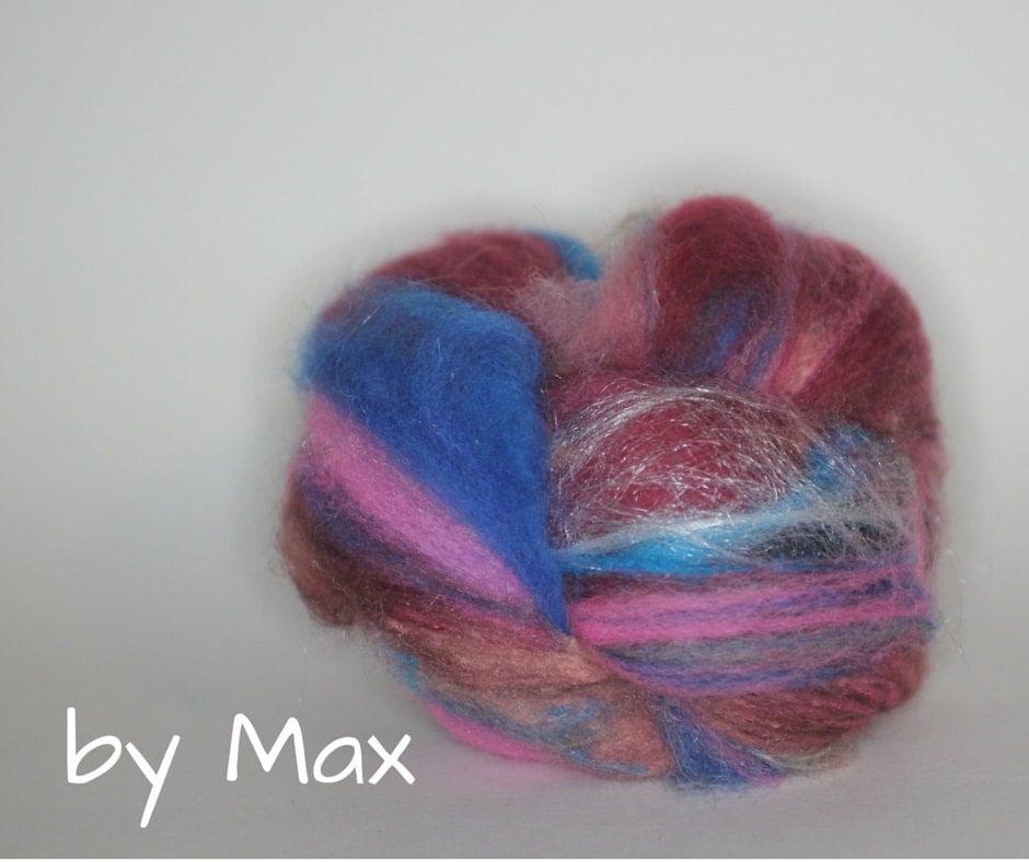 Wool fiber spinning batt max 39 s batt for Fiber batt