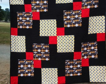 Pittsburgh Steelers Queen Size Quilt