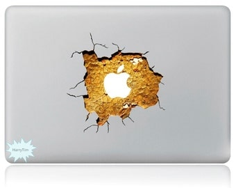 New 3D sticker Macbook decal macbook stickers apple decal mac decal new 15