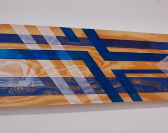 Colors on Wood #7
