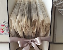 Mr and Mrs Book Folding Pattern. DIY. Make your own gift. Please read Listing. PDF Files Only.