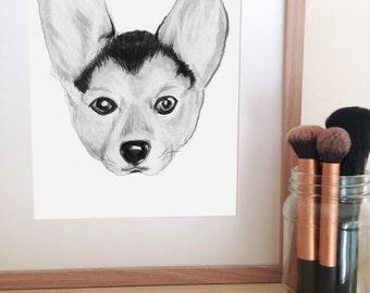 Wall Art Print - Dogs season three - nursery/ bedroom decor
