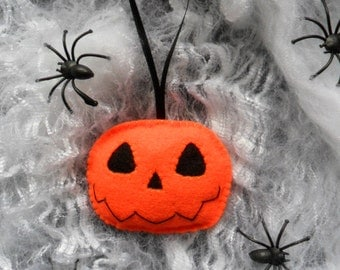 Handmade Pumpkin Halloween Hanging Decoration