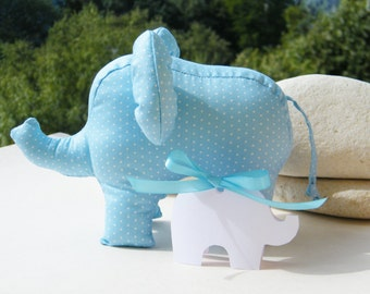 Free Shipping Handmade Elephant Stuffed Toy Home Decor Soft Doll Unique Design Baby Shower Decoration