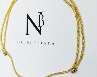 Glorious Gold Waist Beads