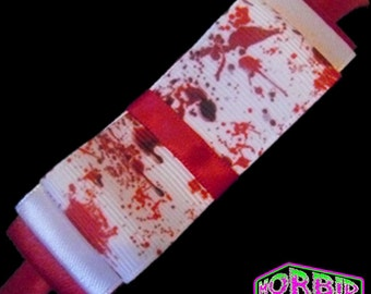 Blood Splattered Horror Headband