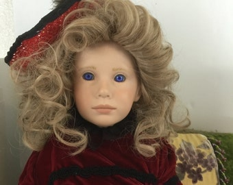 Mandy Collectible Doll by Donna Rubert