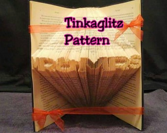 Book folding Pattern **Mr and Mrs CAPS **