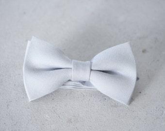 Dove Grey Bow Tie