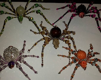 Jeweled Spider  Free Shipping